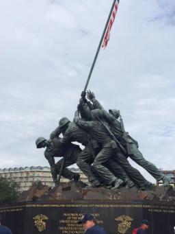 Picture of Iwo Jima Memorial (2016).