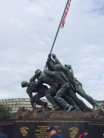 Picture of Iwo Jima Memorial (2016).